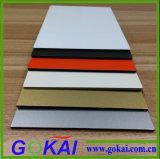 El panel compuesto de aluminio de muchos colores con 2m m a 5m m