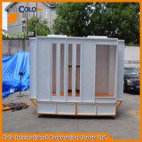 Cabina di spruzzo manuale del rivestimento della polvere dell'acciaio inossidabile con i primi sistemi di ripristino