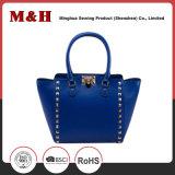 Qualität PU Muti-Farbe Niet-Frauen-Handtasche
