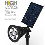 Lampada impermeabile del giardino di energia di energia solare IP44