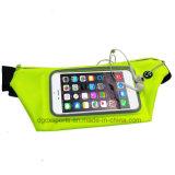 El deporte impermeable de PVC en la cintura para teléfono celular caso