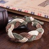 Verde caldo e Brown del braccialetto di Cowmade dell'annata di modo di vendita