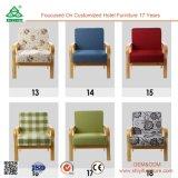 Singola presidenza comoda del sofà, singole presidenze del sofà di Seater del blocco per grafici di legno robusto