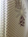 100%Polyester는 직물을%s 매트리스의 등나무 꽃을%s 가진 직물을 반반하게 한다