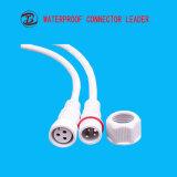 3 voies imperméabilisent le cable connecteur électrique de 2 ou 3 bornes