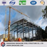 Montaggio d'acciaio a prova di fuoco prefabbricato del magazzino/edificio/costruzione