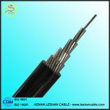 Дуплекс/Triplex/квадруплексный алюминиевый проводник XLPE/PE/PVC изолированный воздушный кабель ABC кабеля падения обслуживания кабеля пачки