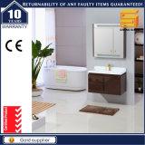 حارّ يبيع بيضاء طلاء لّك خشبيّة غرفة حمّام تفاهة خزانة مع ساق