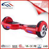 Auto-Banlancing Hoverboard elétrico de duas rodas com Bluetooth e luz do diodo emissor de luz