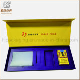 Lujo Matt Negro Perla Caja de cartón de embalaje Encierro magnético de la caja de regalo