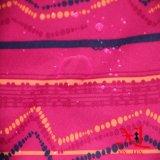 Ткань 100% PU полиэфира Coated водоустойчивая для костюма лыжи/вниз курток