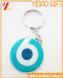 귀여운 인쇄 + Keyholder 선물 (YB-HD-40)를 가진 에폭시 금속 Keychain
