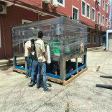 Água pura de controlo PLC Embalagem máquina produtora de equipamento de enchimento