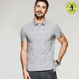 Polo neuf de chemise de polo de broderie d'OEM de mode du plus défunt modèle pour des T-shirts des hommes