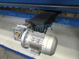 máquina de corte da folha de metal do CNC 16X4000 para a folha do alumínio da estaca