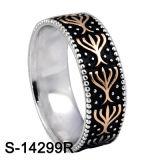 De Ring van de Band van de Nieuwe Model 925 Zilveren Mensen van de Juwelen van de manier