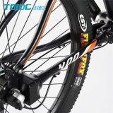 Arancio lungo della bici di montagna di corsa/della bicicletta sport degli uomini