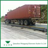 De Schaal van de Vrachtwagen van de weegbrug voor Olietanker