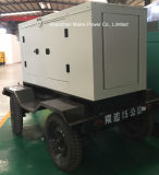 50kVA 40kw fonte de alimentação de emergência Gerador Diesel Cummins Reboque móvel
