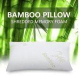 Re caldo di standard della regina di vendita del cuscino della gomma piuma di memoria tagliuzzato bambù