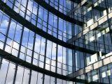 Небоскреба сбывания Frameless установка ненесущей стены горячего стеклянная