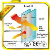 Low-E de color cristal térmico para muros cortina