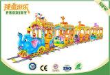 De lujo de 12 asientos de atracciones Rides Trackless tren para niños