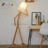 Lampe d'étage réglable de forme drôle créatrice d'homme