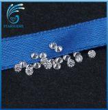 원형 1.0mm 영구히 보석을%s 커트 Moissanite 1개의 화려한 다이아몬드