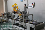 Машина для прикрепления этикеток коробки коробки автоматического стикера фабрики Skilt Unshaped