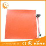 Calentador con pilas flexible del caucho de silicón del calentador de agua de la fábrica 12V de China
