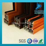 Profilo di alluminio personalizzato 6063 leghe per il portello della finestra di scivolamento con differenti colori