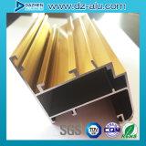 リビアリベリアアルミニウム6063合金のプロフィールの建築材料のWindowsフレームワーク