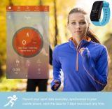 X7 Bluetooth 4.0のスポーツのスマートな腕時計の心拍数の追跡者のスリープモニタのブレスレット