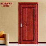 Дверь MDF Mahogany Veneer уборной деревянная (GSP8-006)