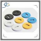 étiquette lavable de blanchisserie d'IDENTIFICATION RF du plastique NFC d'à haute fréquence de 24/26mm