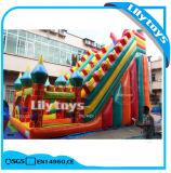 Diapositiva y castillo inflables, diapositiva de la gorila del obstáculo para los cabritos en venta
