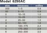 Модельное 6290AC Херрис режа конец отверстия 0.8-3.0