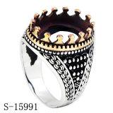 De Ring van het Koper van Hotsale van de fabriek die zonder de Juwelen van de Mensen van de Steen wordt geplaatst