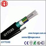 Высокая прочность на растяжение GYTC8S Оптоволоконный кабель