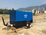 16m3 17bar Luy160-17の鉱山のための携帯用ディーゼル空気圧縮機