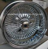 クロムワイヤー車輪