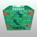 Virgin e scatola di plastica riciclata, cassa, cestino