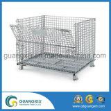 Hohe Kapazitäts-Metalldraht-Ineinander greifen-Speicher-Rahmen-Behälter