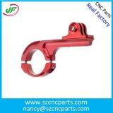 CNCの機械化の部品、精密金属部分、CNCは部品を回した