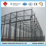 Edifício de estrutura de estrutura de aço pré-fabricado de baixa qualidade da China