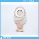 Medizinische Tee-Farbezweiteiliger Colostomy-Beutel für Krankenhaus, maximaler Schnitt: 68mm