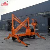 8-16m Elevador de elevação do braço dobrável móvel de uso externo para manutenção