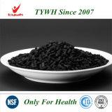 Carbón activado KOH impregnado para el gas ácido fijado por adsorción