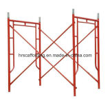 粉の販売のための上塗を施してある石大工フレームの足場システム中国製
